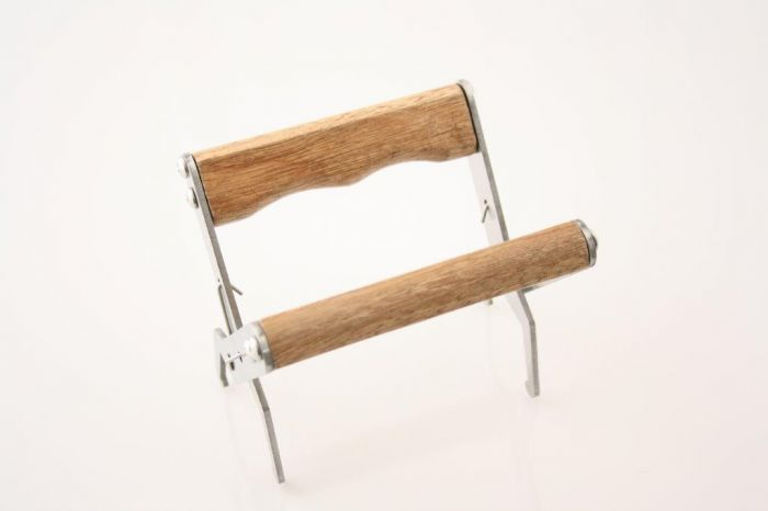 Tavletang med træhåndtag