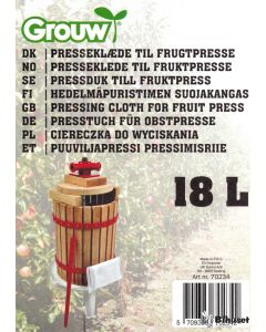 Pose Til Presse Frugt 18 L.