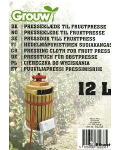 Pose Til Presse Frugt 12 L.