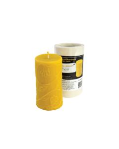 Cylinder med blomster  605 gr