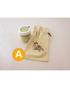 Stof gavepose med bimotiv