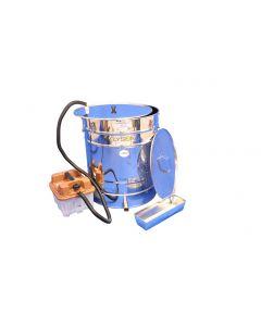 Dampvokssmelter 100 liter