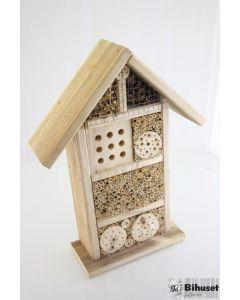 Lille insekthotel til vilde bier