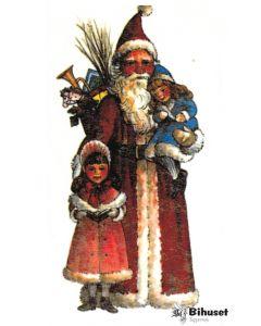 Klistermærke Julemand