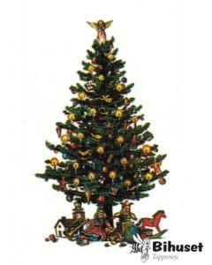 Klistermærke Juletræ