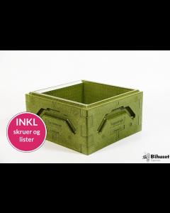 Tappernøjemagasin grøn Norsk