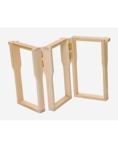 Klap/folde-rammer til dobbelt parringsstade