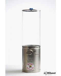 Tappebeholder Glas 20 Kg. Thomas