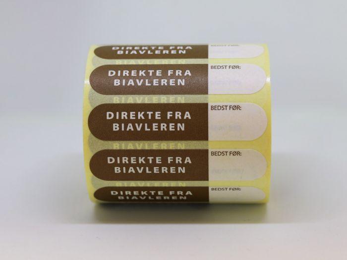 Direkte fra biavleren, med dato-mærkning