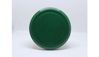 Metallåg til glas 58 mm guld/sort/grøn/hvid
