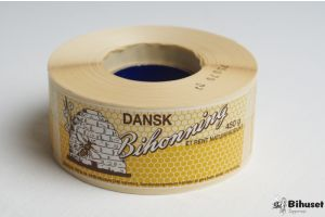 Etiketter Dansk Bihonning