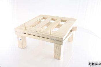 Vippebord til tappespanden i træ