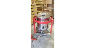 CMF Honning centrifuge med styring på fritstående fod