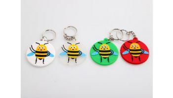 Nøglering: Den glade bi
